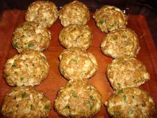 peanut butter tofu balls