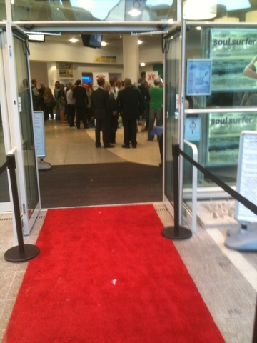 Red carpet film premier Newquay Cinema