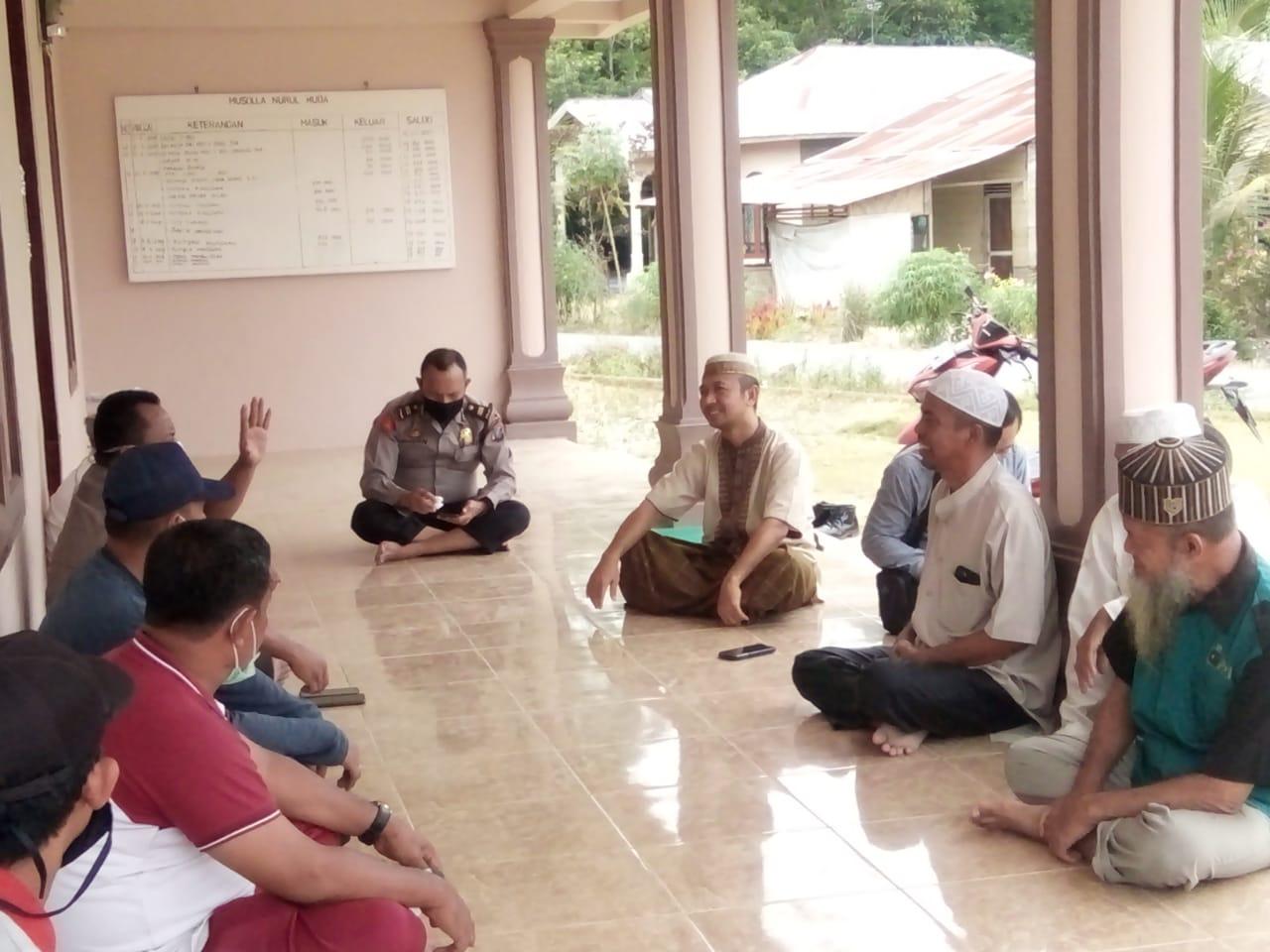 Sampaikan Maklumat Kapolri, Kapolsek Firdaus Himbau Jemaah Tabligh tidak Laksanakan Musyawarah
