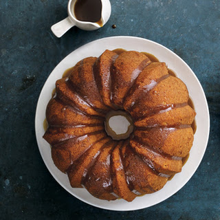 Apple Bundt Cake with Brown-Sugar Glaze