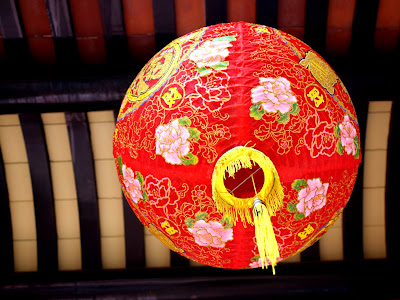 Lantern at a Temple in Malacca