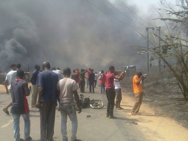 PHOTOS: Over 100 Die In Nnewi Gas Plant Explosion 2