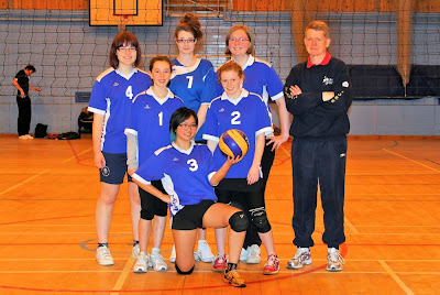 York Under 18 Girl's Team 2011. Back: Alex, Helen, Katie, Tim (coach) Middle: Laura, Alix Front: Mary
