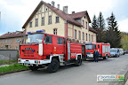 Jelenia Góra: Pożar w dawnym hotelu Sudety.
