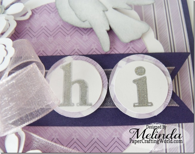 Hi SVG Cut File Card By Melinda Beltran