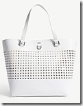 Karen Millen Large Perforated Tote