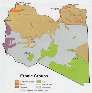 libya+ethnic+map+%25281974%2529 Virtually Unknown in the West: Libyas water resources