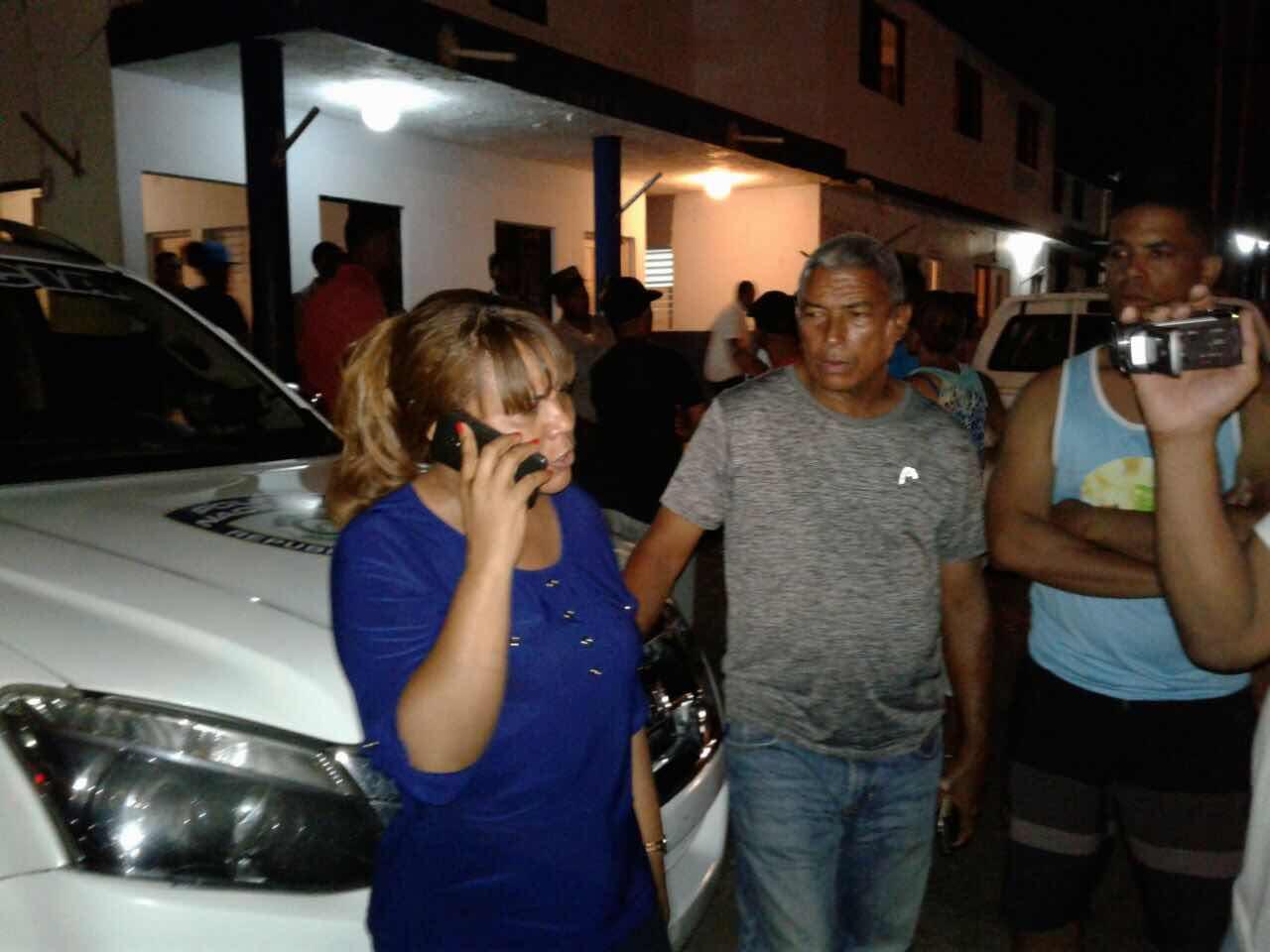 En Sosúa Policía abusa de la ciudadanía, tiran gas pimienta a concejal Lilian Ceballos y Periodistas