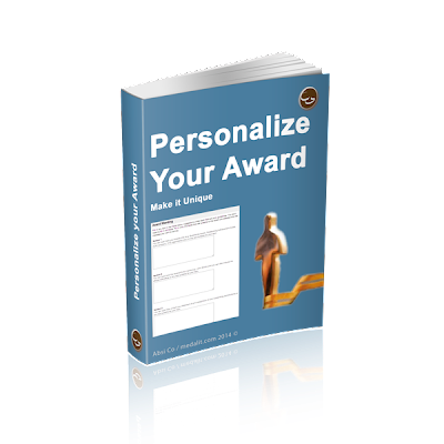 Personalize Your Award Manual