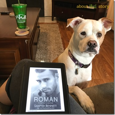 Daisy approves of Roman by Sawyer Bennett | About That Story