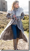 Celtic & Co Hooded Toscana Shearling Coat
