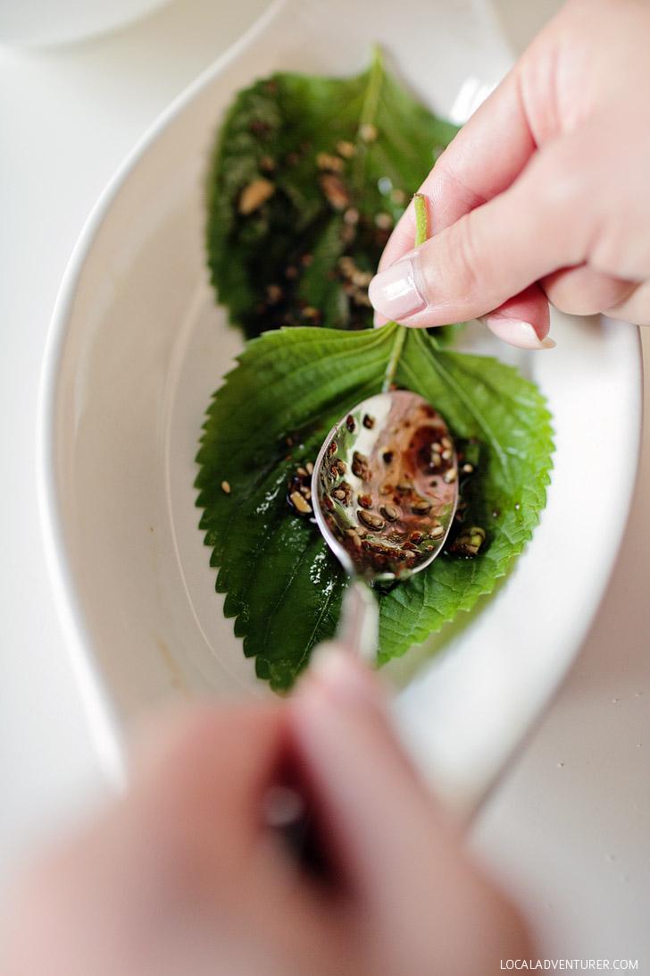 Korean Perilla Leaf Kimchi (깻잎장아찌) - Banchan Recipes.