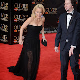 OIC - ENTSIMAGES.COM - Gillian Anderson at the The Olivier Awards in London 12th April 2015  Photo Mobis Photos/OIC 0203 174 1069