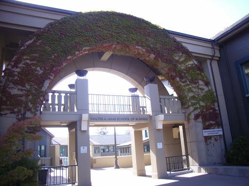 Cronk Gate of Haas School of Business