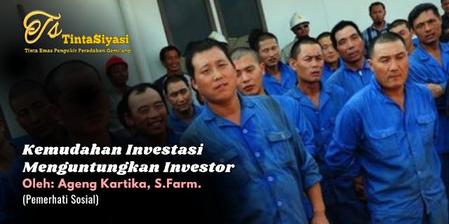 Kemudahan Investasi Menguntungkan Investor