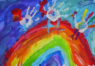 Photo: Спивак Миша. 6 лет. Вольфштейн Леон 6 лет. Мартиросян Рон. 6 лет Студ. Алены Шпендик. Израиль. г. Реховот