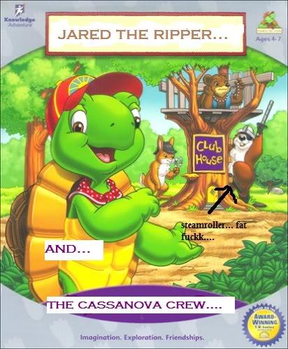 Franklin The Turtle Pua, Casanova Crew