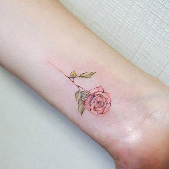 Este elegante rosa