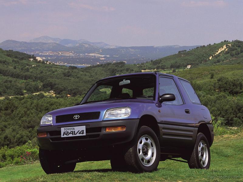 Attractive ... 1996 Toyota Rav4 00002 ...