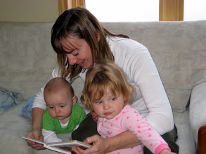 Photo: Auntie Beth handles two kids