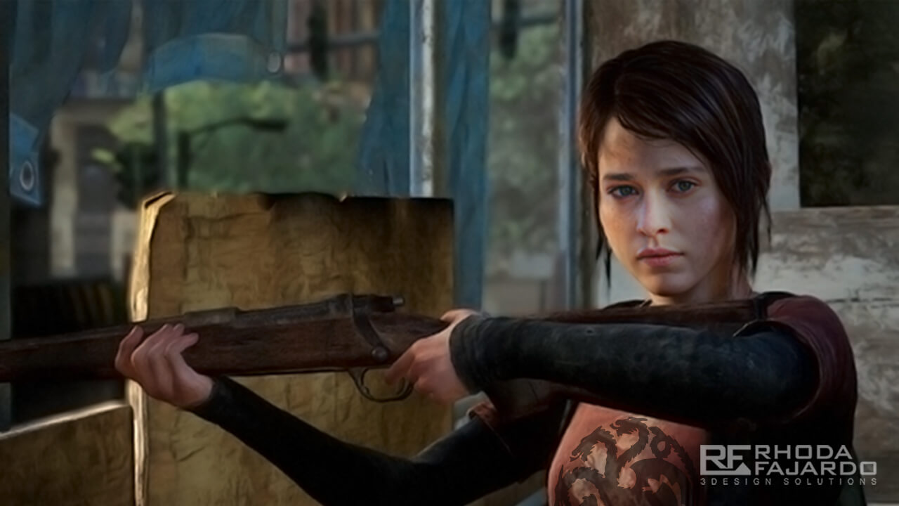 Daenerys Targaryen as Ellie