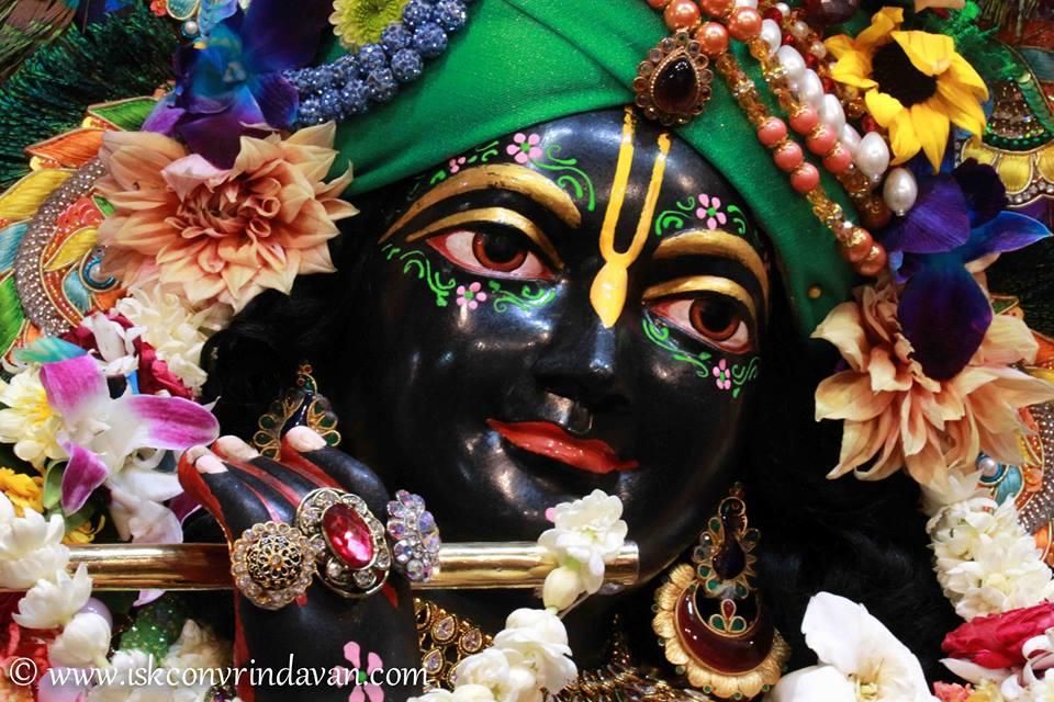 ISKCON Vrindavan Sringar Deity Darshan 08 April 2016 (17)