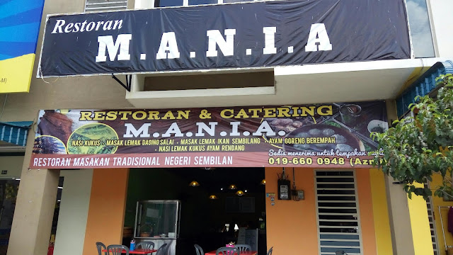 Restoran M.A.N.I.A - Masakan Tradisional Negeri Sembilan di Slim River