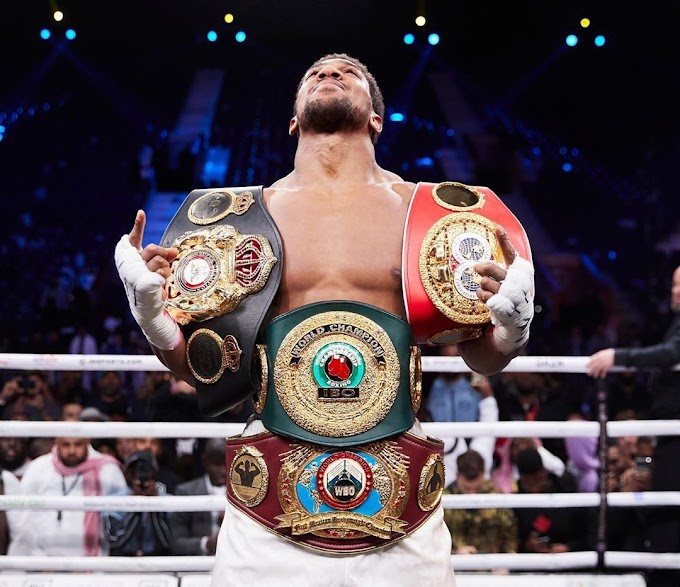 Anthony Joshua regained world heavyweight title, Andy Ruiz asked for 3rd Fight.