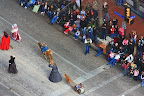 The stock show parade with costumes...