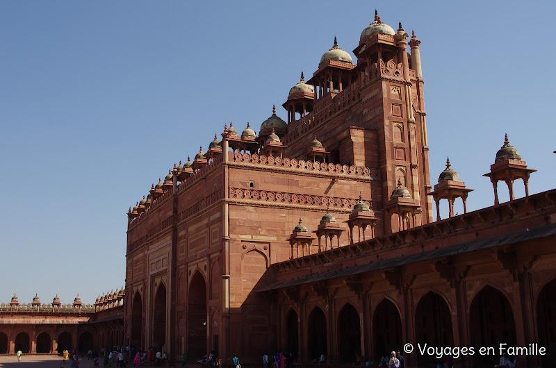 porte sud, jama masjid, fatehpur sikri