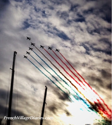 French Village Diaries Tour De France 2015 Paris Patrouille de France