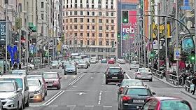 57.357 coches menos en la capital en un año