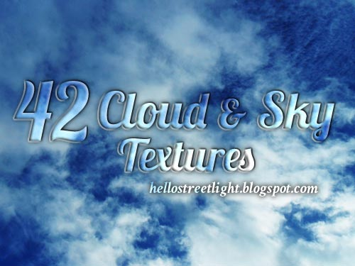 Free High Resolution Cloud and Sky Textures