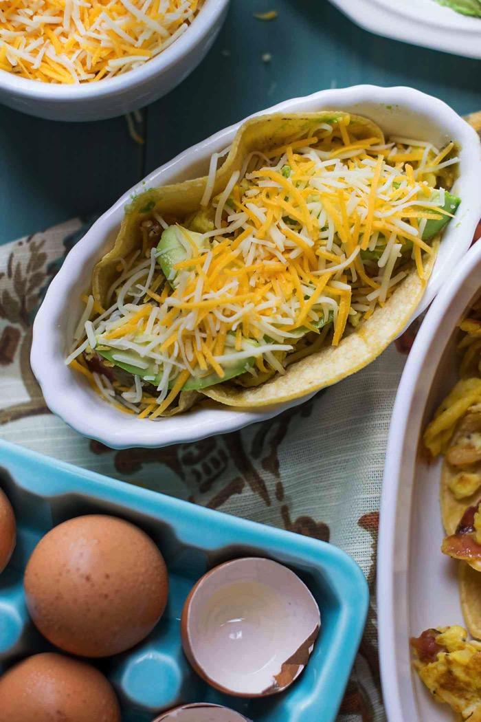 Green Chile Avocado Breakfast Taco