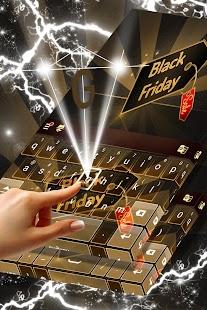 Redraw Black Friday Keyboard - náhled