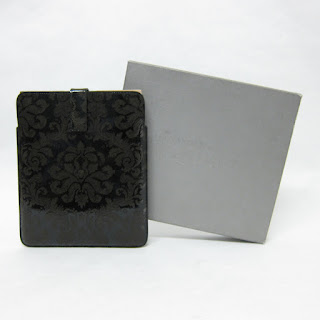 Alexander McQueen NEW Etched Flower iPad Sleeve