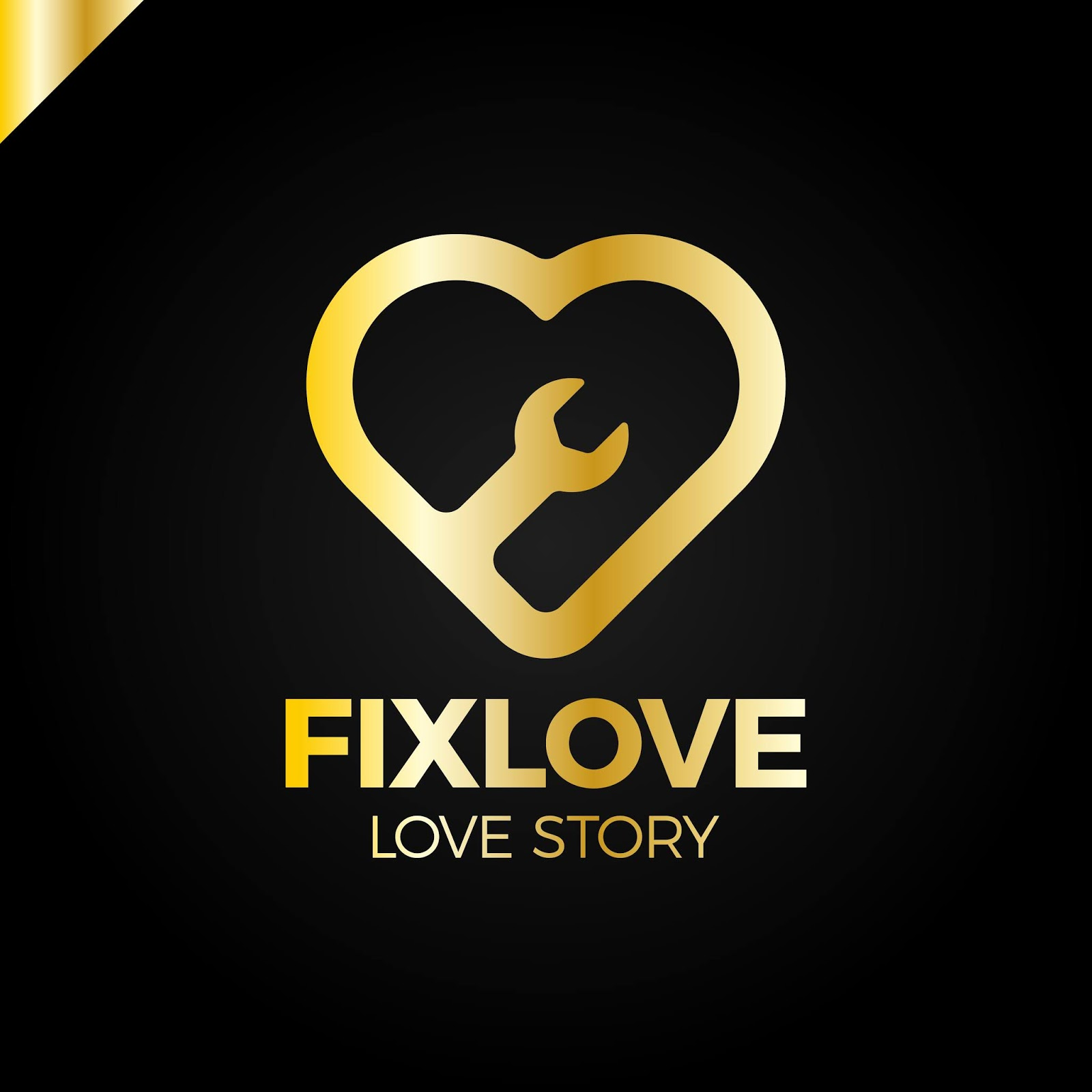 Repair Love Logo Design	 Free Download Vector CDR, AI, EPS and PNG Formats