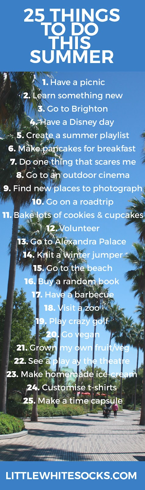 things to do in summer bucketlist