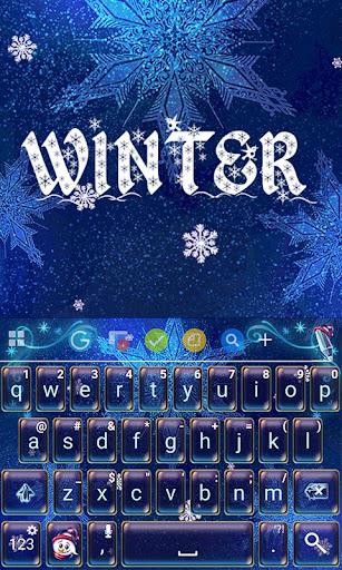 Winter Theme Keyboard