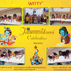 Janmashtami Celebration by Pre - Primary Section (2018-19), Witty World, Goregaon East