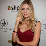 WWW.ENTSIMAGES.COM -    Ashley James  Whistle and  Bango Founders     at      Whistle and  Bango  launch party at Wolf and Badger, London October 23rd 2014Ashley James, Ania Kubow and Rosie Parkes are showcasing their new brand and bracelets at a celebrity studded press launch                                                 Photo Mobis Photos/OIC 0203 174 1069