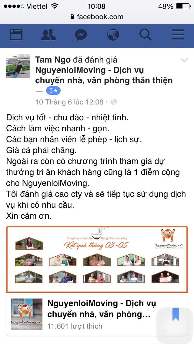 Phản hồi của KH Tuyên