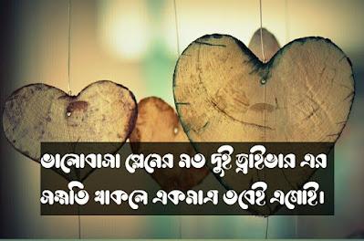 Bangla valobasar status