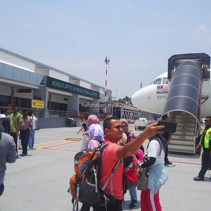 Percutian 4H3M Melawat Tempat Menarik di Jogjakarta 2018