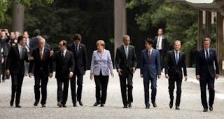 Japon: le sommet du G7 s'ouvre, l'économie mondiale au centre des discussions