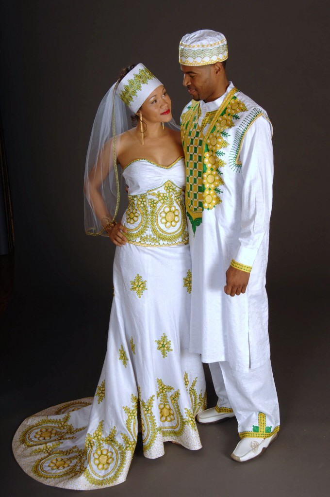 South African Traditional Wedding Dresses Styles 1