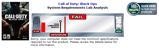 Black Ops :(