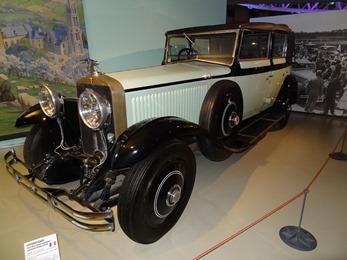 2019.01.20-077 Hispano-Suiza Type H6C coupé chauffeur landaulet Binder 1929