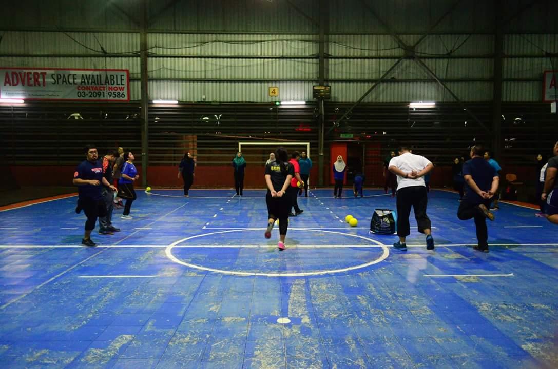 Dodgeball Penat Tapi Enjoy! - 1st Week JK1M Team KLCC Charlie
