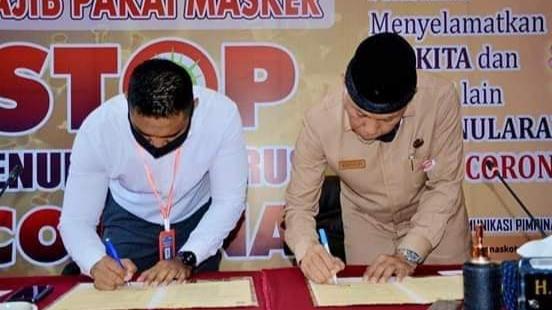 Pemko Padang Jalin MoU dengan PLN Terkait  Pelayanan Ketenagalistrikan.